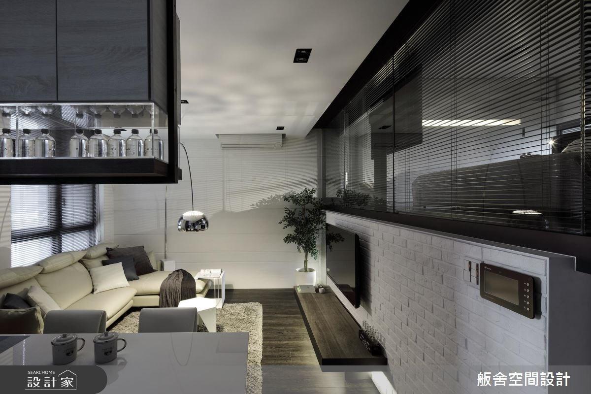 20坪新成屋(5年以下)_現代風客廳案例圖片_舨舍空間設計有限公司_舨舍_36之1