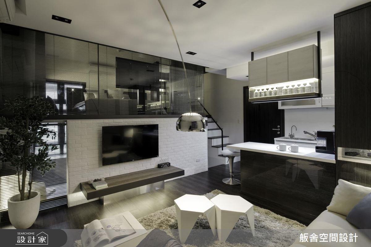 20坪新成屋(5年以下)_現代風客廳案例圖片_舨舍空間設計有限公司_舨舍_36之3