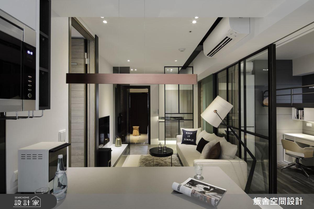 16坪新成屋(5年以下)_現代風客廳吧檯案例圖片_舨舍空間設計有限公司_舨舍_42之6