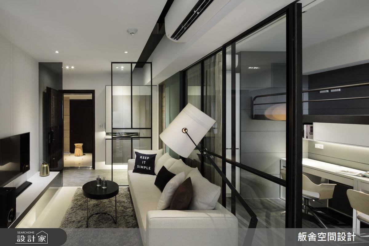 16坪新成屋(5年以下)_現代風客廳案例圖片_舨舍空間設計有限公司_舨舍_42之7