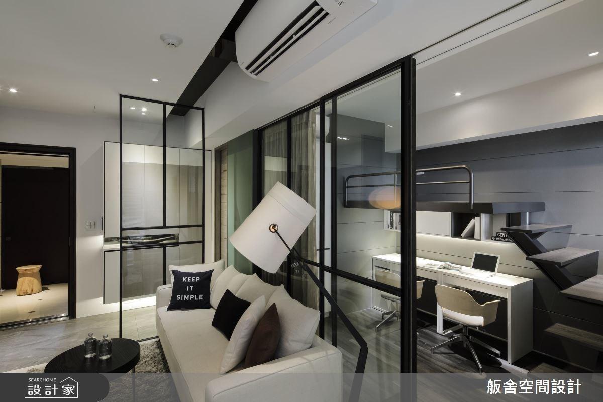 16坪新成屋(5年以下)_現代風客廳書房案例圖片_舨舍空間設計有限公司_舨舍_42之8