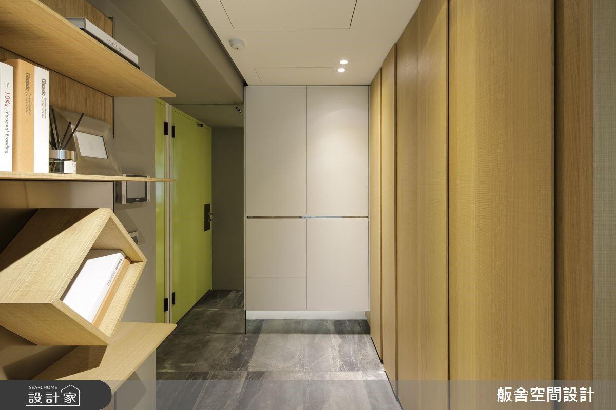 16坪預售屋_現代風玄關案例圖片_舨舍空間設計有限公司_舨舍_47之1