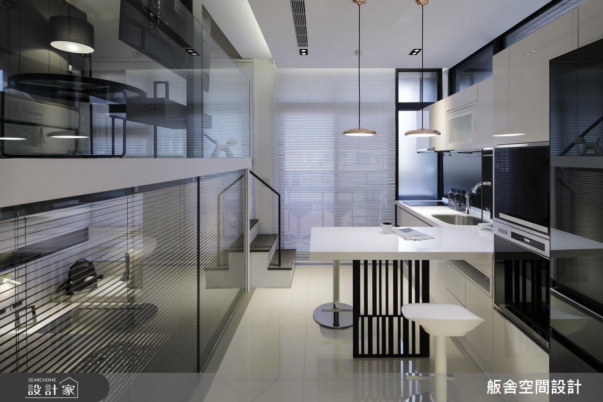 20坪新成屋(5年以下)_現代風餐廳廚房案例圖片_舨舍空間設計有限公司_舨舍_49之4