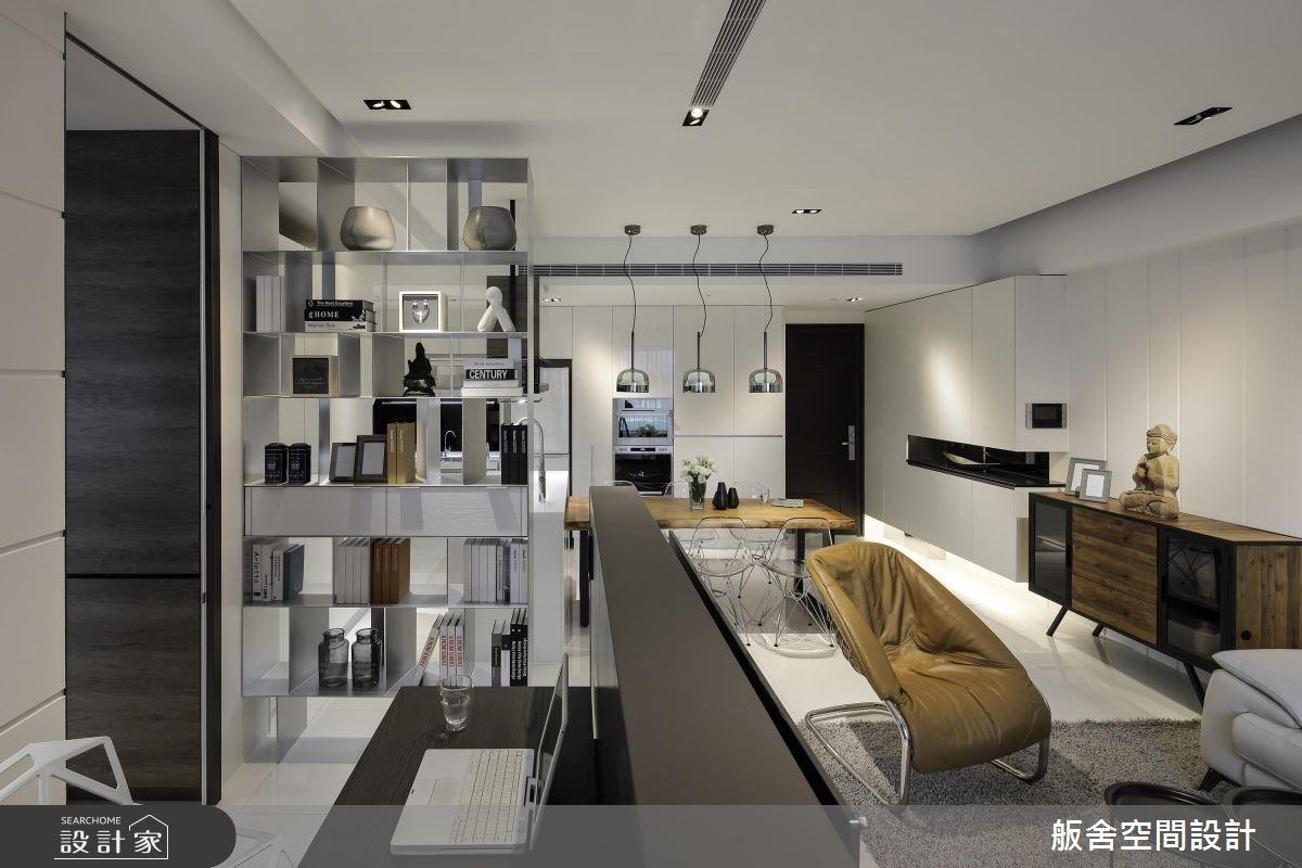 20坪新成屋(5年以下)_現代風客廳書房案例圖片_舨舍空間設計有限公司_舨舍_51之2
