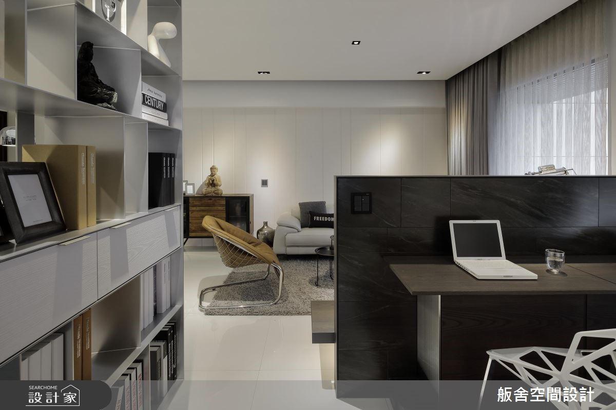20坪新成屋(5年以下)_現代風書房案例圖片_舨舍空間設計有限公司_舨舍_51之3
