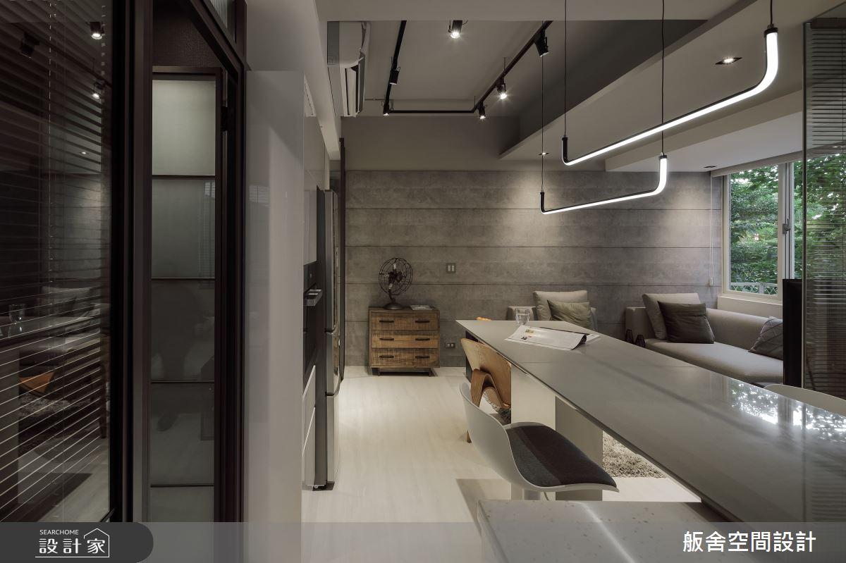 17坪老屋(16~30年)_工業風餐廳案例圖片_舨舍空間設計有限公司_舨舍_58之3