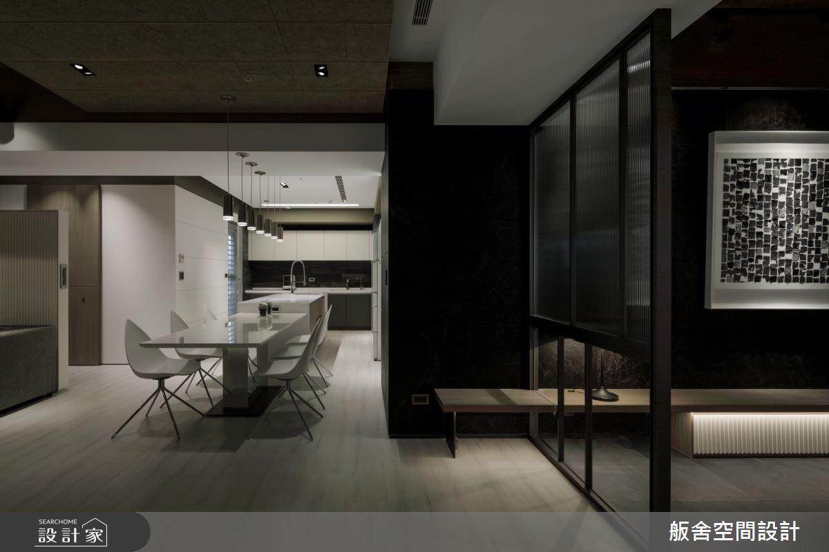 50坪新成屋(5年以下)_現代風餐廳吧檯案例圖片_舨舍空間設計有限公司_舨舍_59之2