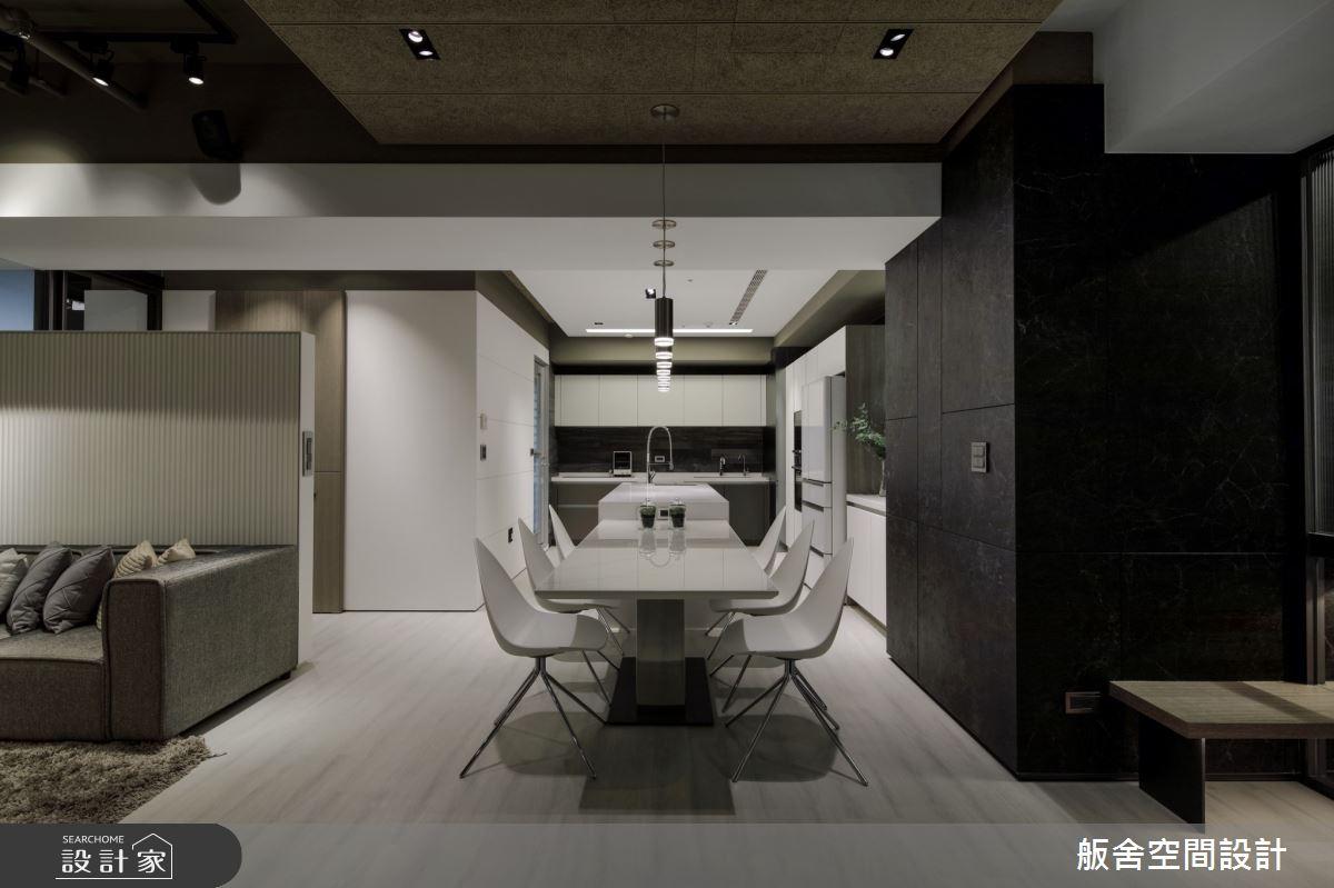 50坪新成屋(5年以下)_現代風餐廳吧檯案例圖片_舨舍空間設計有限公司_舨舍_59之3