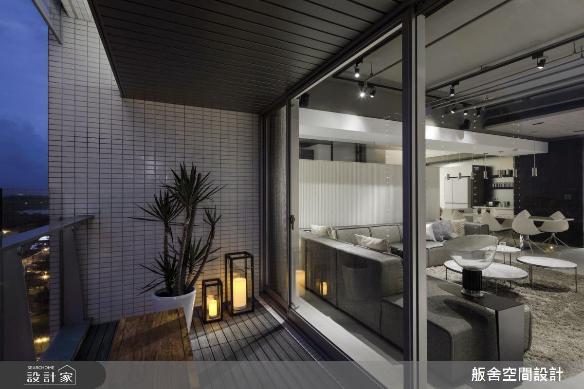 50坪新成屋(5年以下)_現代風陽台案例圖片_舨舍空間設計有限公司_舨舍_59之5