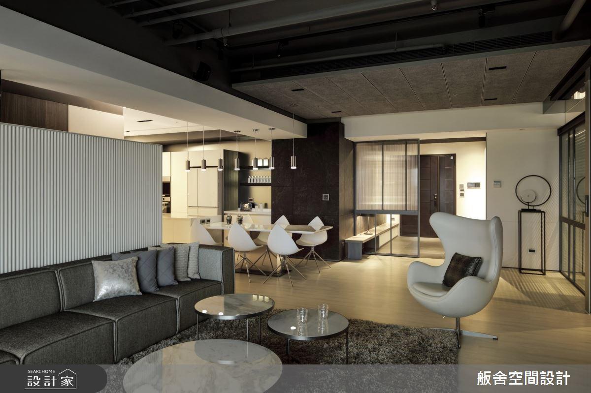 50坪新成屋(5年以下)_現代風客廳餐廳案例圖片_舨舍空間設計有限公司_舨舍_59之6