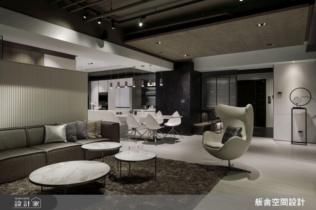 50坪新成屋(5年以下)_現代風客廳餐廳案例圖片_舨舍空間設計有限公司_舨舍_59之7