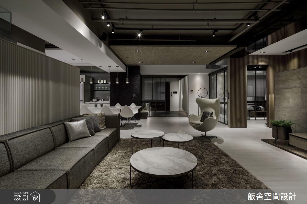 50坪新成屋(5年以下)_現代風客廳餐廳案例圖片_舨舍空間設計有限公司_舨舍_59之8