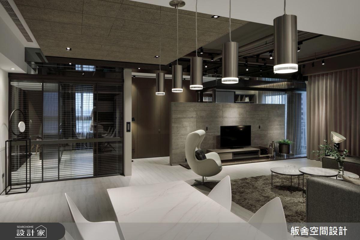 50坪新成屋(5年以下)_現代風客廳餐廳案例圖片_舨舍空間設計有限公司_舨舍_59之10