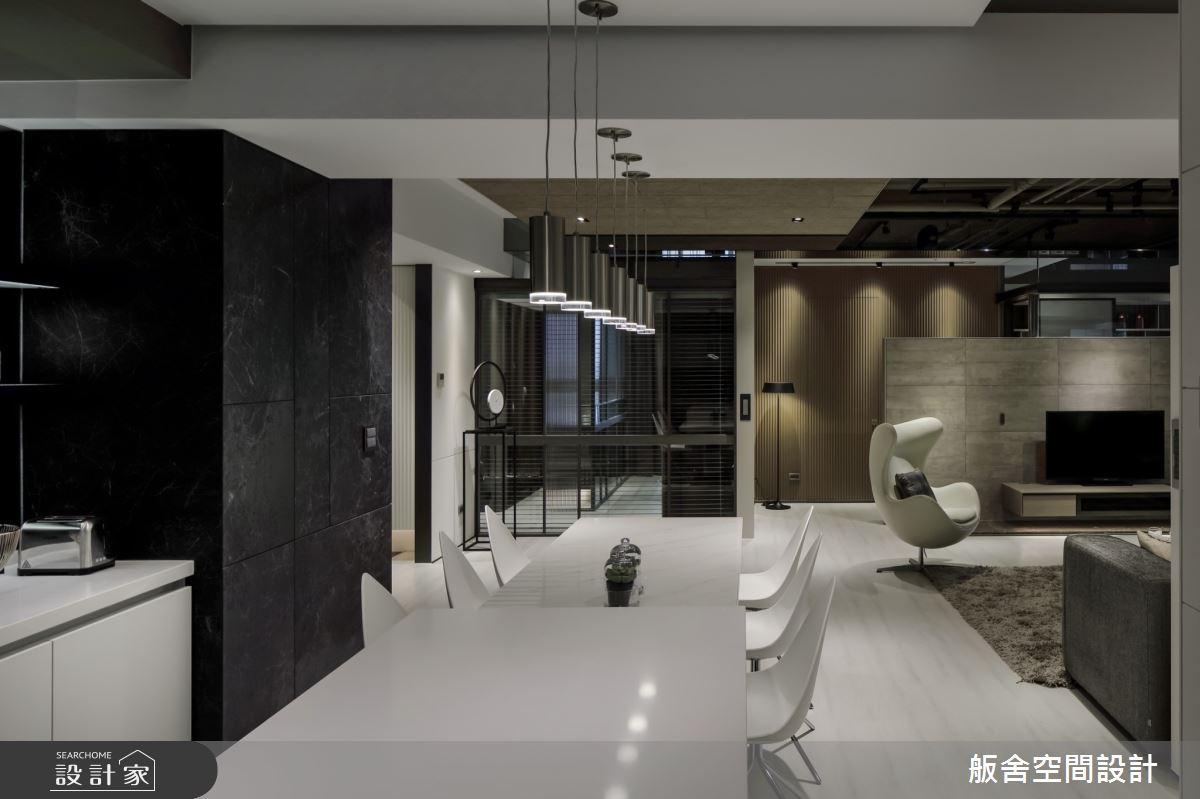 50坪新成屋(5年以下)_現代風客廳餐廳吧檯案例圖片_舨舍空間設計有限公司_舨舍_59之11
