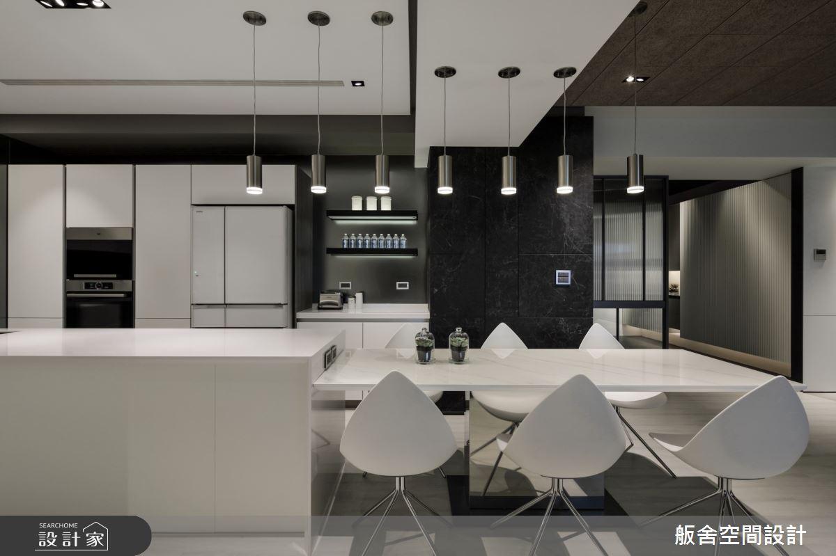 50坪新成屋(5年以下)_現代風餐廳吧檯案例圖片_舨舍空間設計有限公司_舨舍_59之14