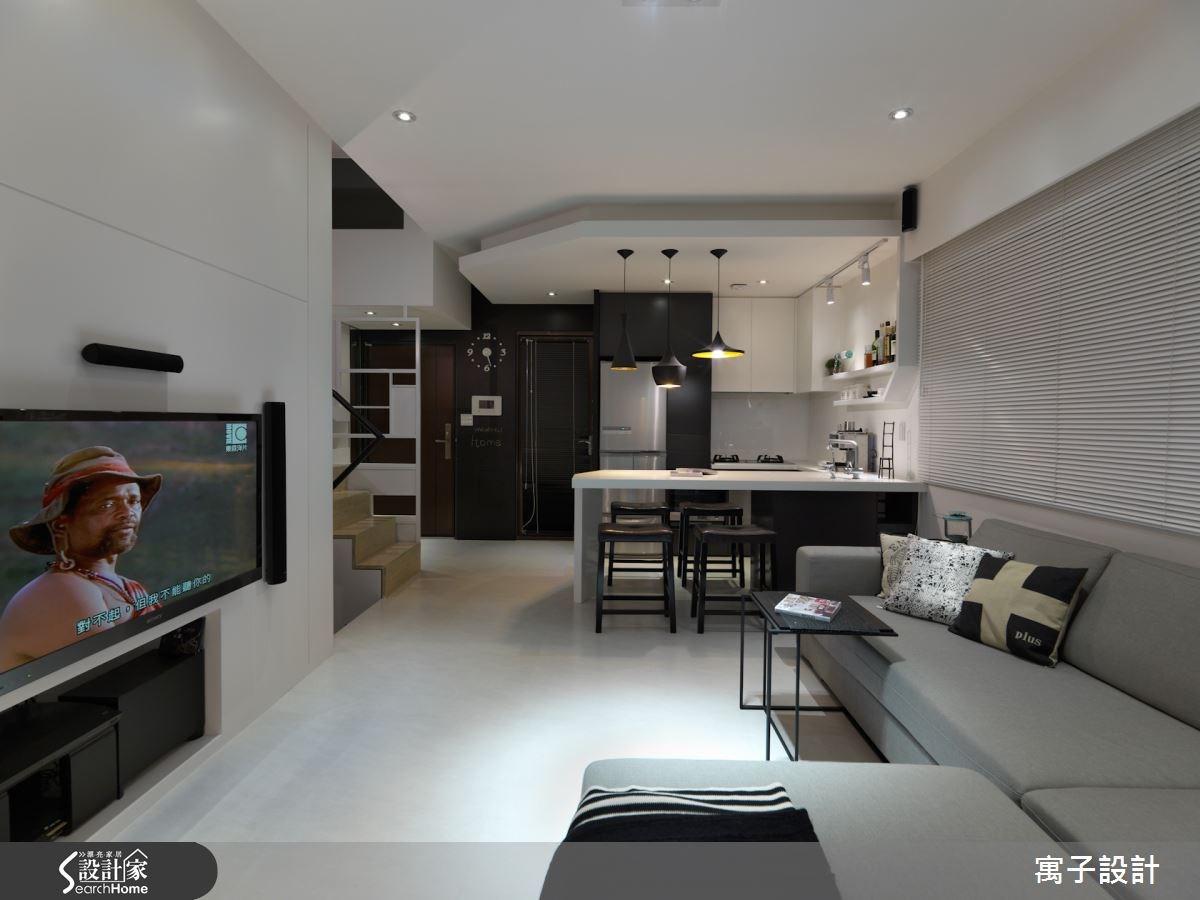 20坪預售屋_北歐風案例圖片_寓子設計_寓子_微醺之1