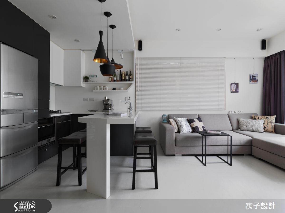 20坪預售屋_北歐風案例圖片_寓子設計_寓子_微醺之2