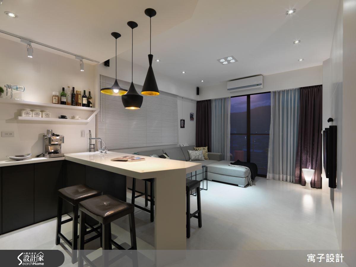 20坪預售屋_北歐風案例圖片_寓子設計_寓子_微醺之3