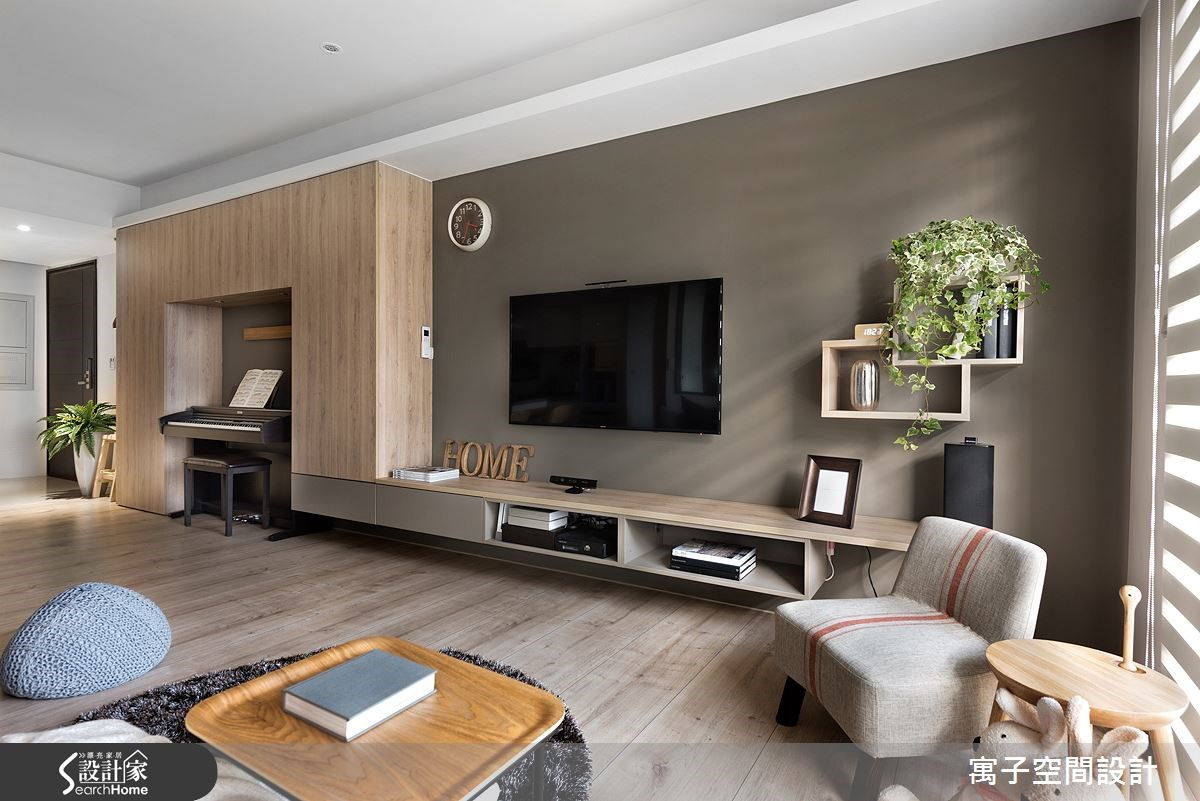 40坪新成屋(5年以下)_休閒風案例圖片_寓子設計_寓子_森呼吸 I之2