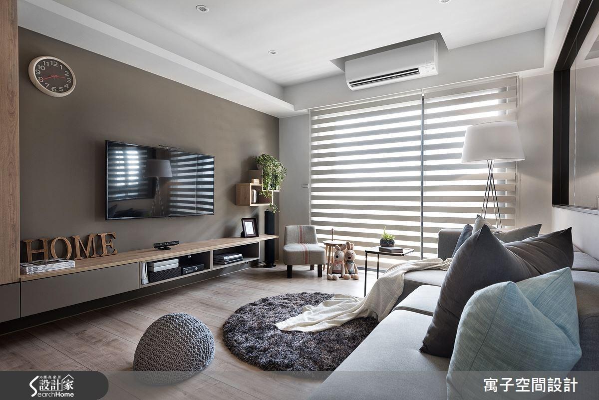 40坪新成屋(5年以下)_休閒風案例圖片_寓子設計_寓子_森呼吸 I之4