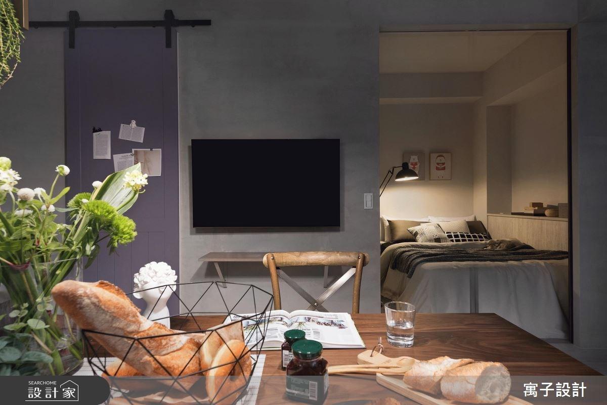 12坪老屋(16~30年)_北歐風餐廳案例圖片_寓子設計_寓子_倆倆之11
