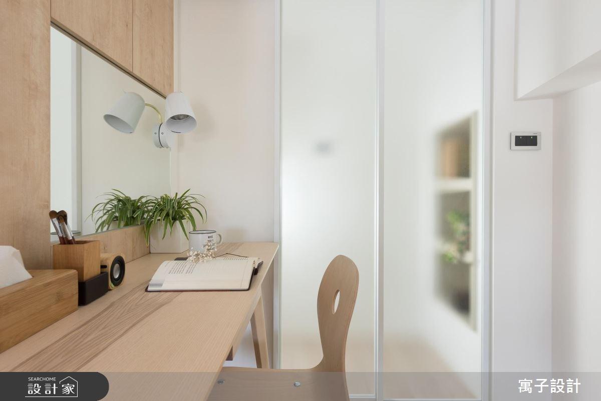 11坪新成屋(5年以下)_北歐風臥室案例圖片_寓子設計_寓子_早安,日和 !之12