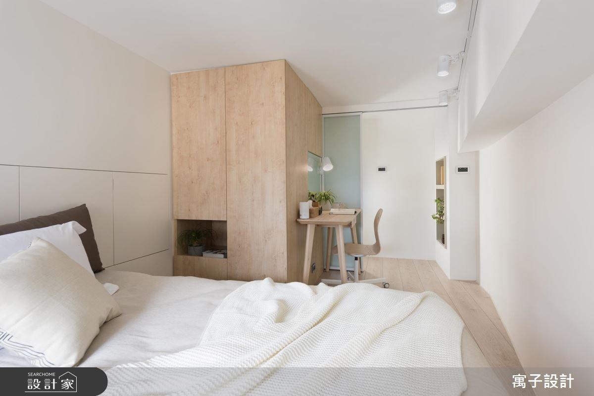 11坪新成屋(5年以下)_北歐風臥室案例圖片_寓子設計_寓子_早安,日和 !之13