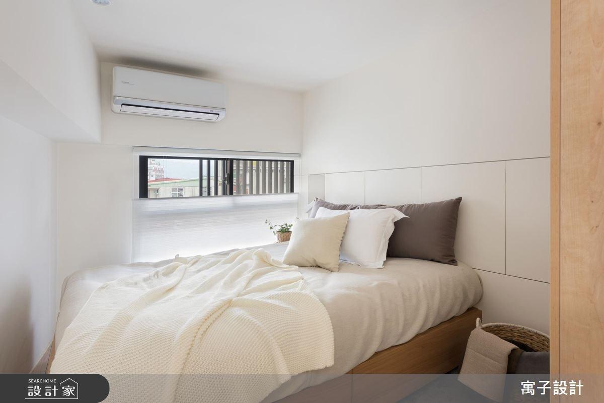 11坪新成屋(5年以下)_北歐風臥室案例圖片_寓子設計_寓子_早安,日和 !之14