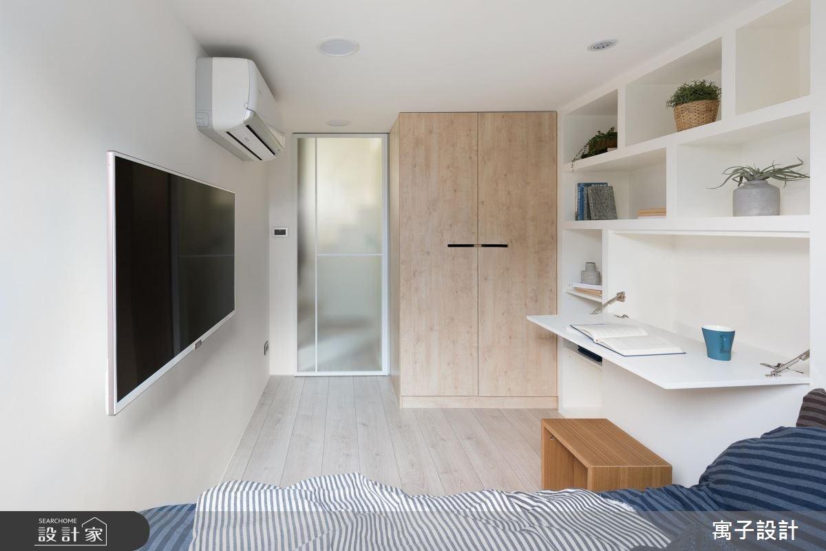 11坪新成屋(5年以下)_北歐風臥室案例圖片_寓子設計_寓子_早安,日和 !之16