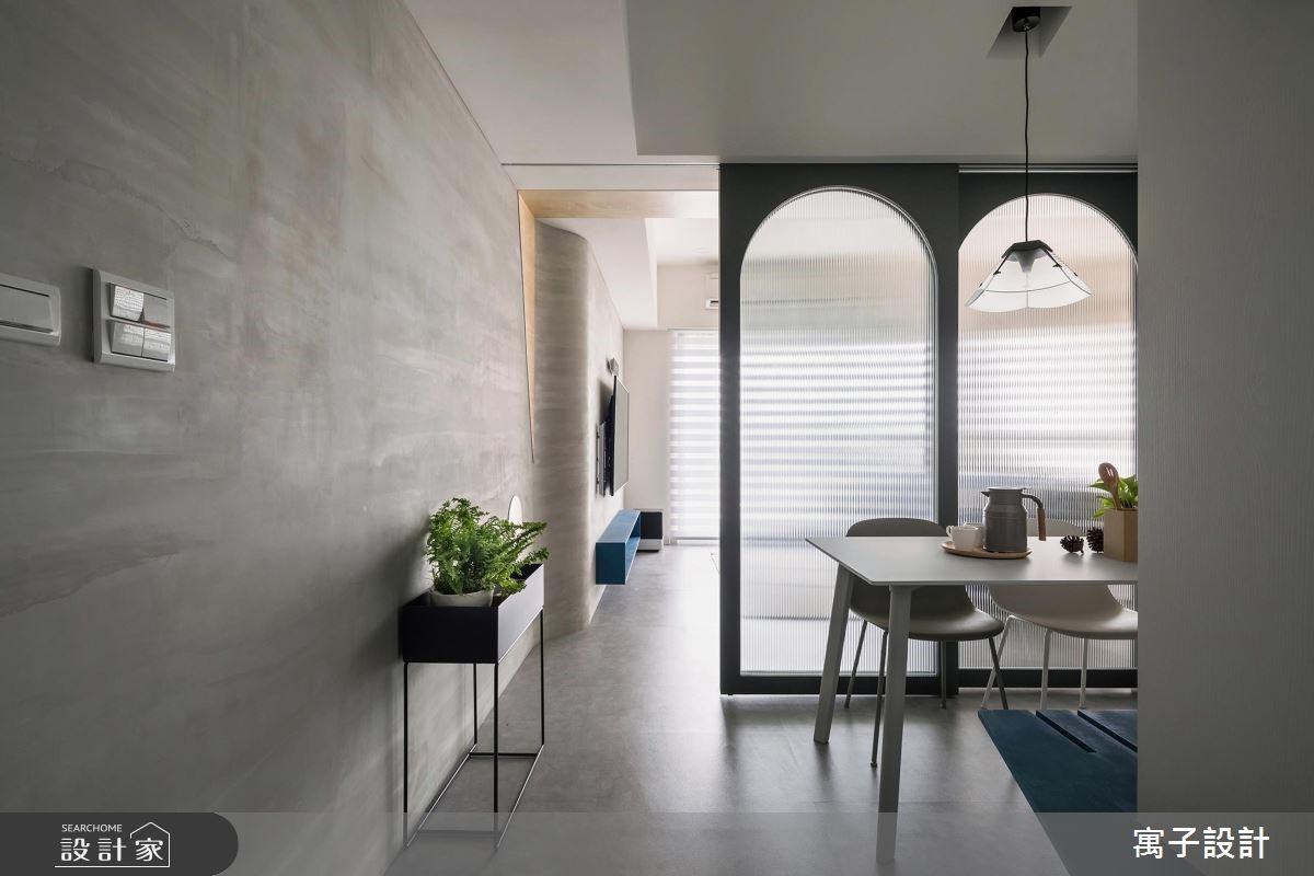 30坪新成屋(5年以下)_北歐風餐廳案例圖片_寓子設計_寓子_你好Liho之2