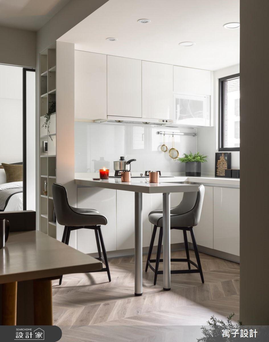 22坪新成屋(5年以下)_雅痞風餐廳案例圖片_寓子設計_寓子_陸層之4
