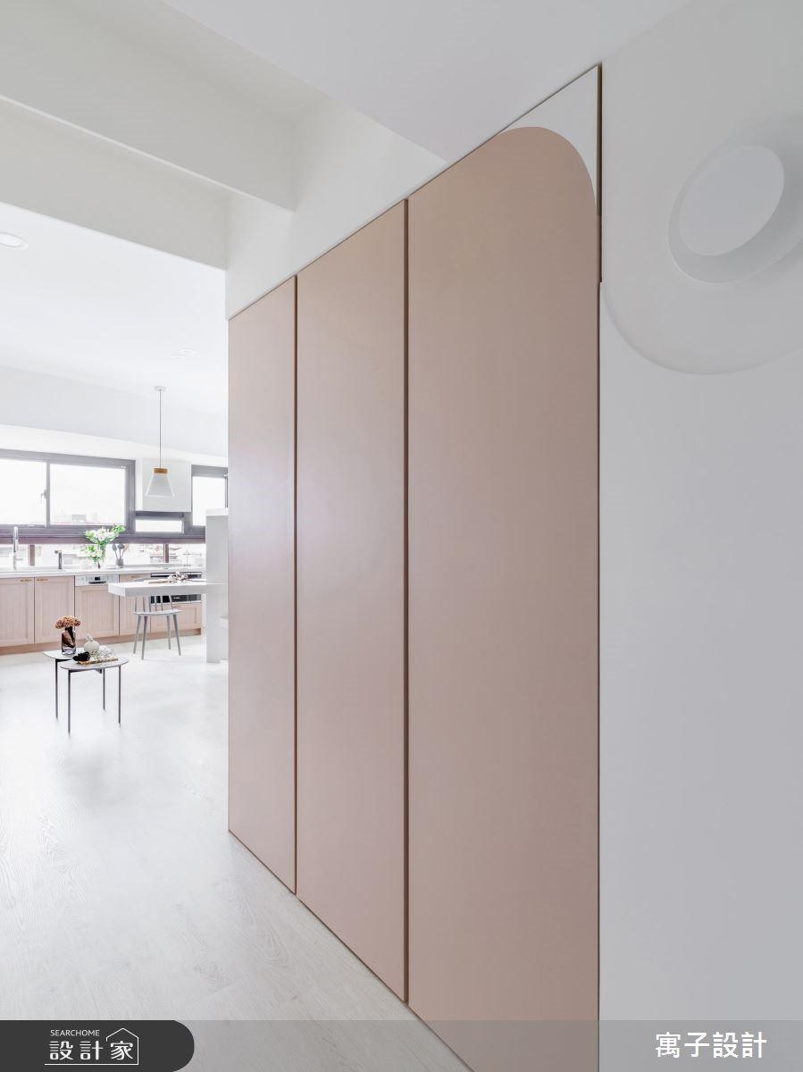 19坪新成屋(5年以下)_北歐風走廊案例圖片_寓子設計_寓子_Hebbe之2