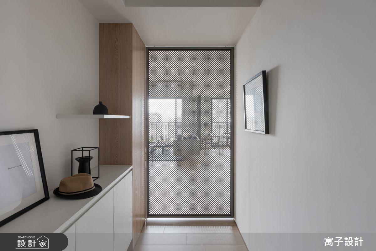 30坪新成屋(5年以下)_北歐風玄關案例圖片_寓子設計_寓子_H°之1