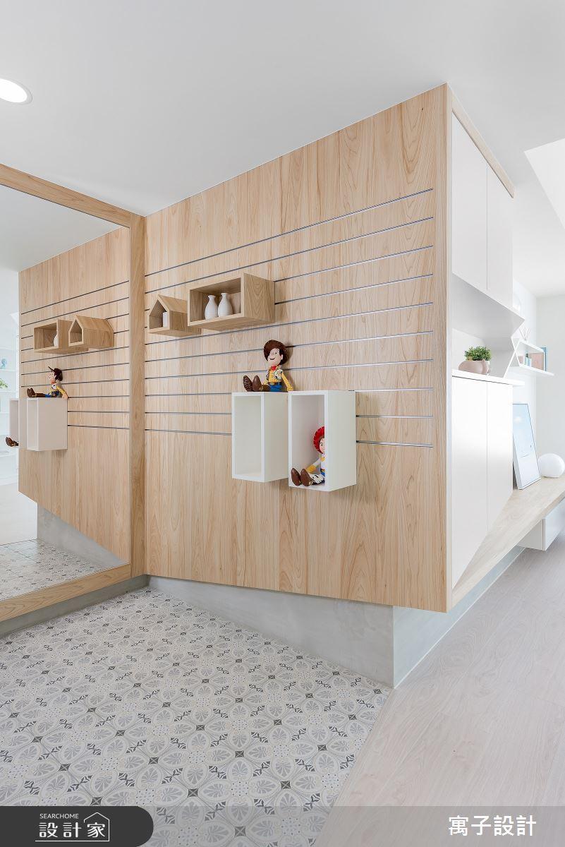 20坪新成屋(5年以下)_北歐風客廳案例圖片_寓子設計_寓子_泡泡糖之2