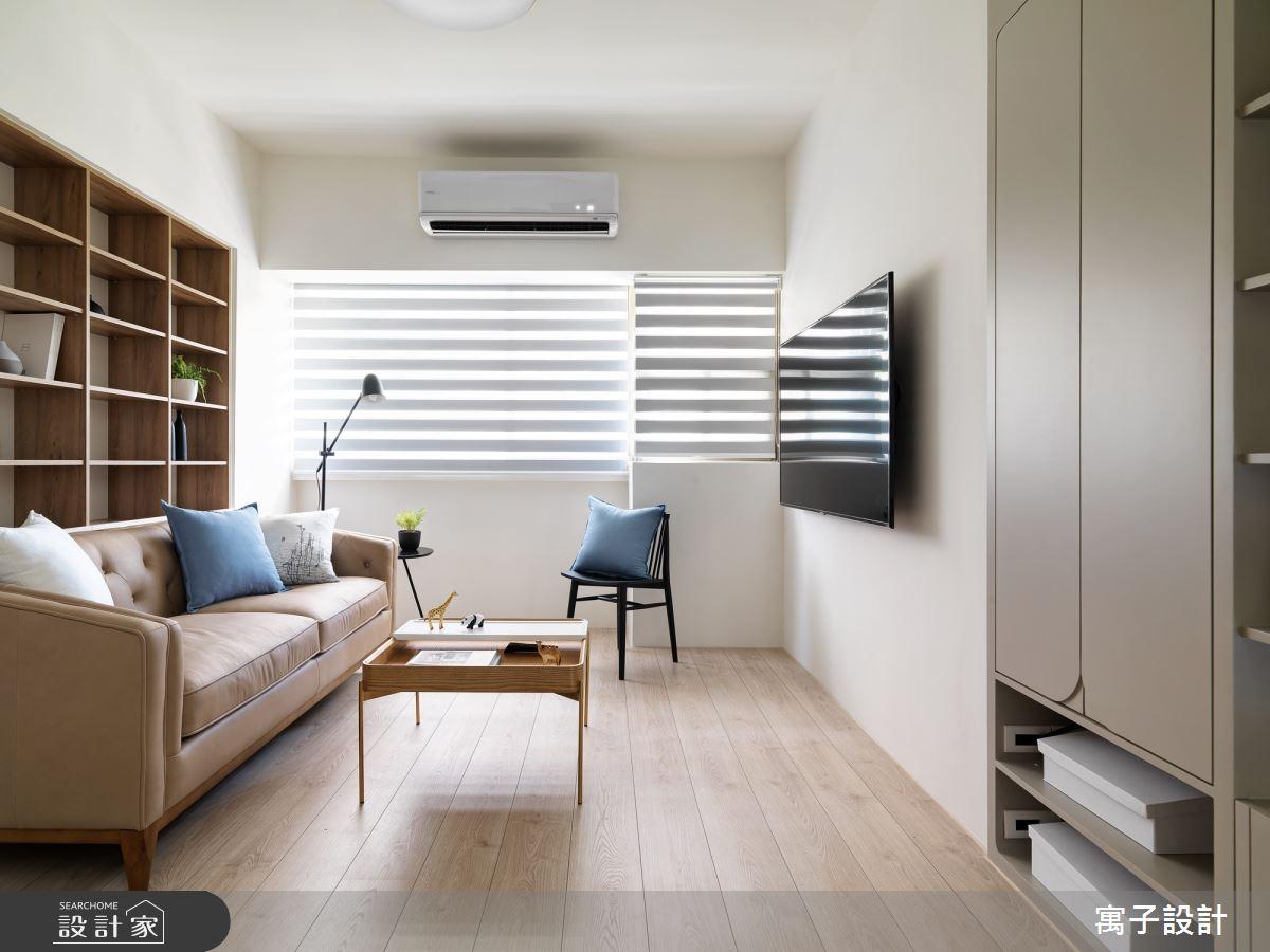 30坪新成屋(5年以下)_北歐風客廳案例圖片_寓子設計_寓子_旅行之2