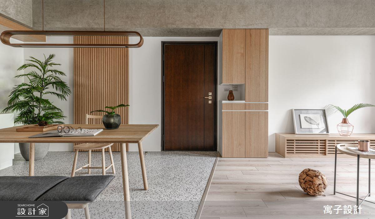 30坪新成屋(5年以下)_休閒多元玄關案例圖片_寓子設計_寓子_木果果之3