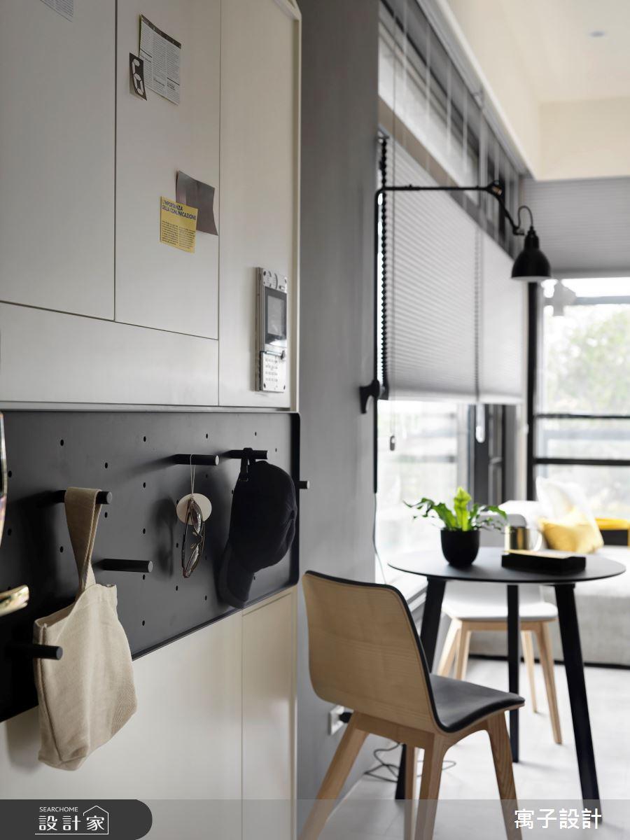 14坪老屋(16~30年)_北歐風餐廳案例圖片_寓子設計_寓子_Mini.H之2