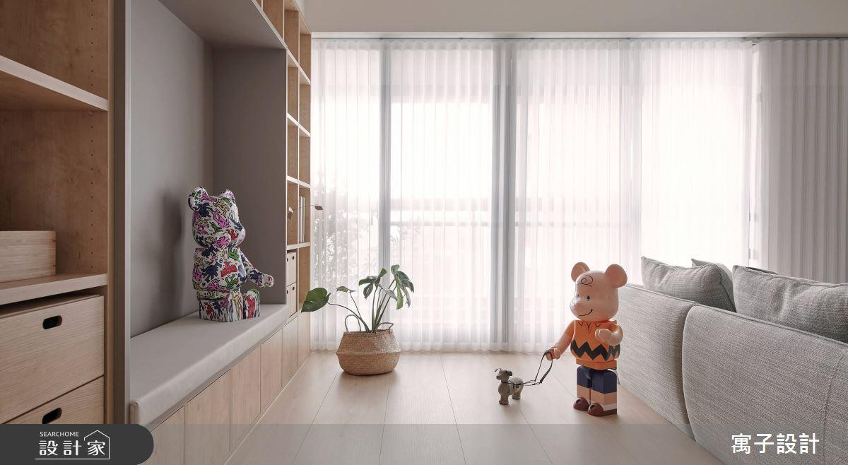28坪新成屋(5年以下)_北歐風案例圖片_寓子設計_寓子_悠悠之4