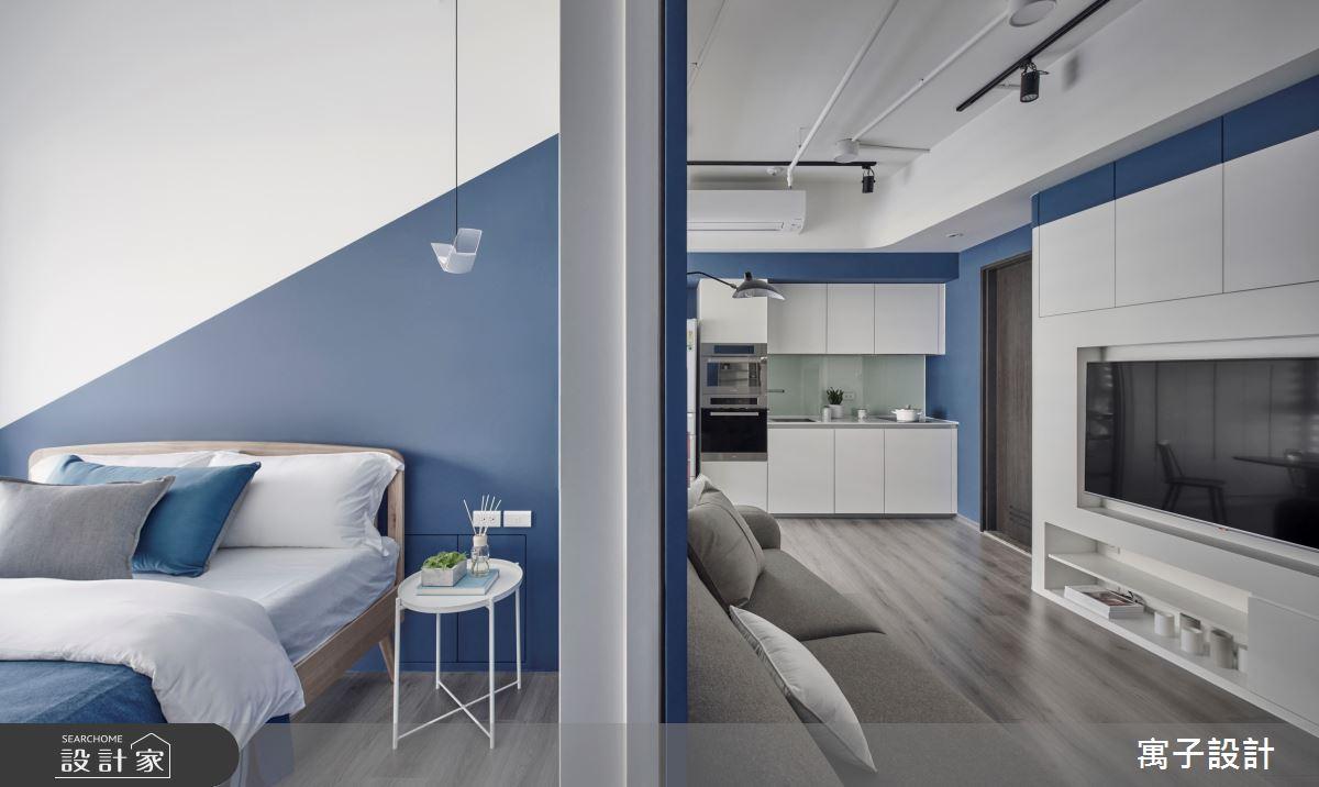 15坪新成屋(5年以下)_休閒多元臥室案例圖片_寓子設計_寓子_島嶼之11
