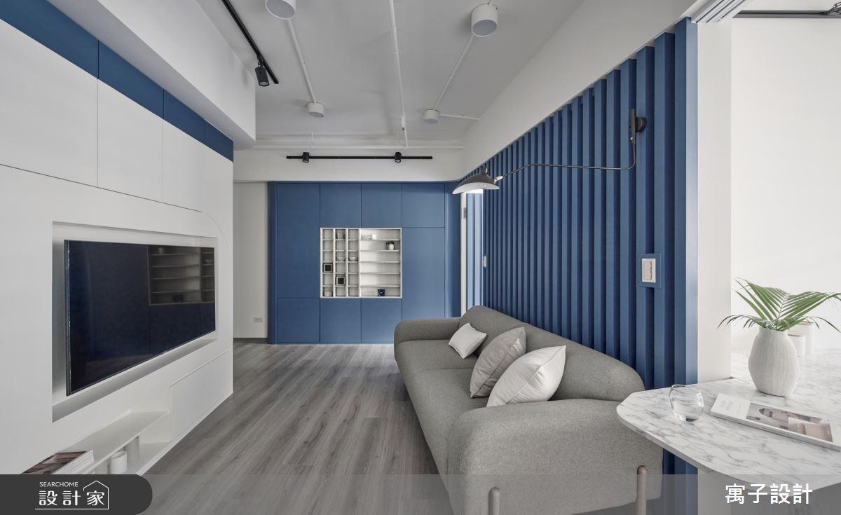 15坪新成屋(5年以下)_休閒多元客廳案例圖片_寓子設計_寓子_島嶼之3