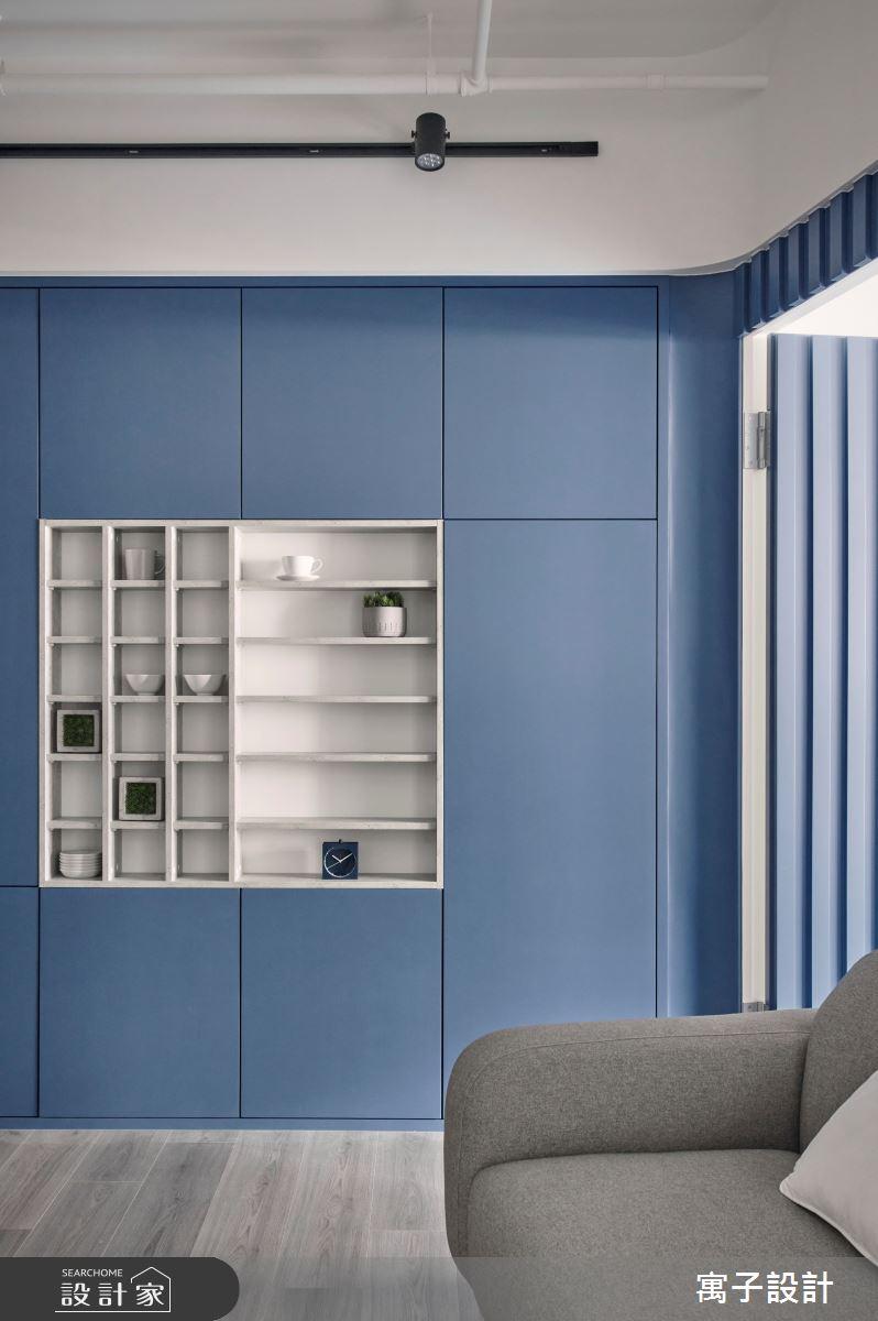 15坪新成屋(5年以下)_休閒多元客廳案例圖片_寓子設計_寓子_島嶼之8