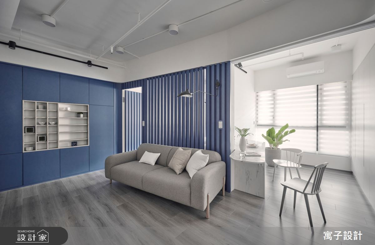 15坪新成屋(5年以下)_休閒多元客廳餐廳案例圖片_寓子設計_寓子_島嶼之6