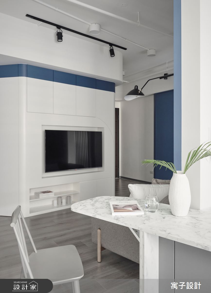 15坪新成屋(5年以下)_休閒多元餐廳案例圖片_寓子設計_寓子_島嶼之9