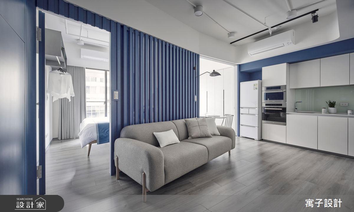 15坪新成屋(5年以下)_休閒多元客廳案例圖片_寓子設計_寓子_島嶼之4