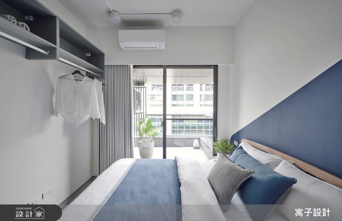 15坪新成屋(5年以下)_休閒多元臥室案例圖片_寓子設計_寓子_島嶼之12