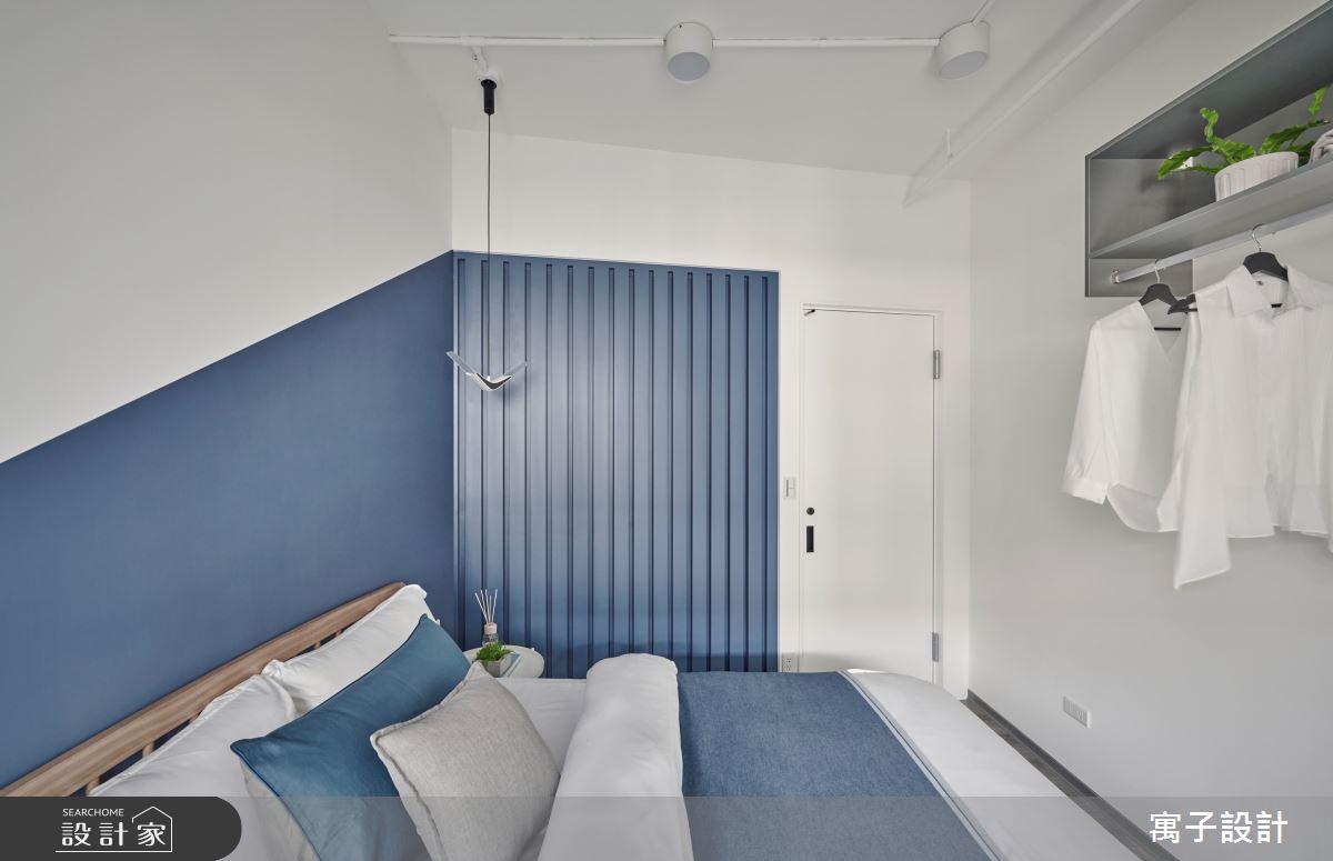 15坪新成屋(5年以下)_休閒多元臥室案例圖片_寓子設計_寓子_島嶼之13