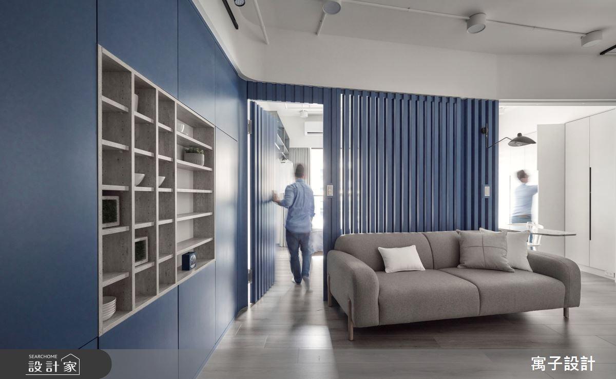 15坪新成屋(5年以下)_休閒多元客廳案例圖片_寓子設計_寓子_島嶼之7