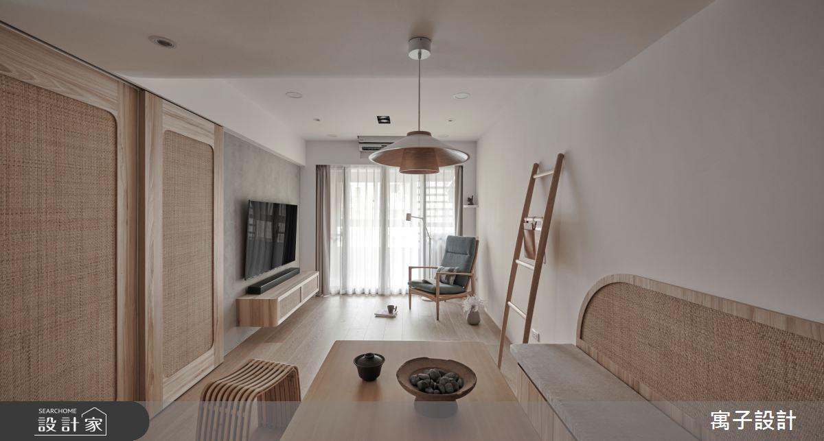 30坪老屋(16~30年)_休閒多元風客廳餐廳案例圖片_寓子設計_寓子_縷縷之3