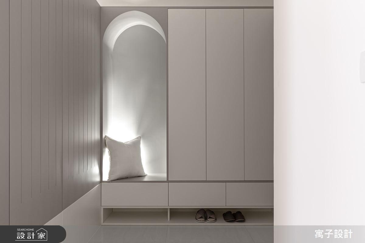 30坪新成屋(5年以下)_北歐風玄關案例圖片_寓子設計_寓子_想像之2