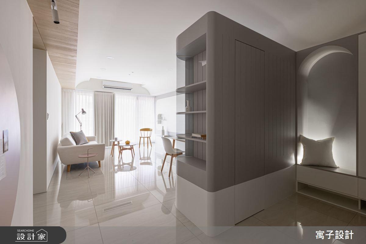 30坪新成屋(5年以下)_北歐風玄關客廳案例圖片_寓子設計_寓子_想像之3